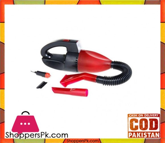 Fashion Mart Car Vacuum Cleaner - Red - Karachi Only