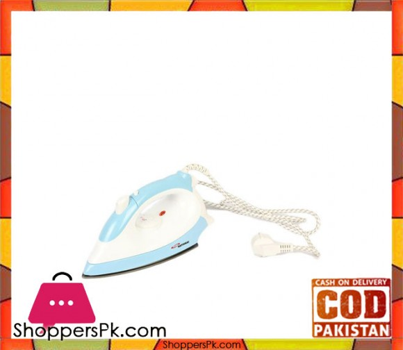 Gaba National GN-1531 - Iron - Blue & White (Brand Warranty) - Karachi Only