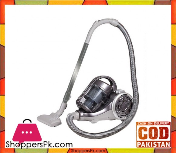 Gaba National Gnv-6015-Multi Cyclone Vaccum Cleaner-Gray (Brand Warranty) - Karachi Only