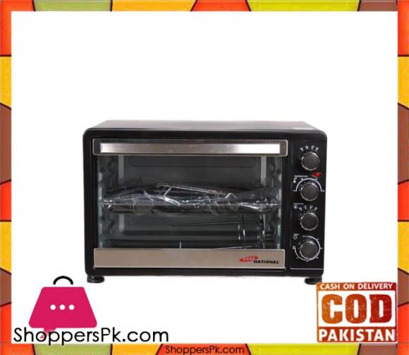 Gaba National GN0-1548 Electric Oven Black (Brand Warranty) - Karachi Only