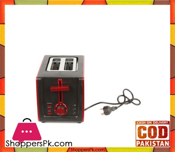 Gaba National GN-8014P/T - Sandwich Maker - Red (Brand Warranty) - Karachi Only