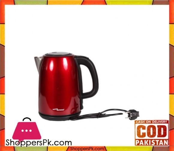 Gaba National Gn-4014 - Electric Kettle - Red (Brand Warranty) - Karachi Only