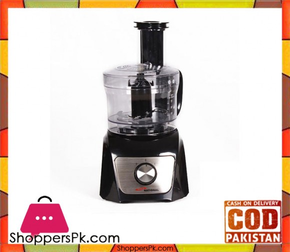 Gaba National Gn-5024 -Meat Chopper & Mixer Kitchen Robot - Black (Brand Warranty) - Karachi Only