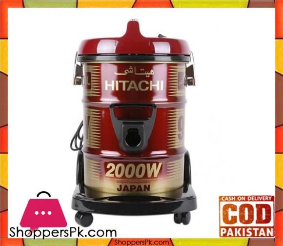 Hitachi CV-950Y - Drum Vacuum - Maroon - Karachi Only