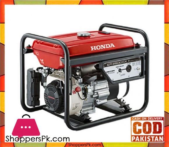 Honda Petrol Generator ER2500CX - 2 KVA - Red - Karachi Only
