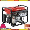 Honda  Petrol & Gas Generator ER2500CX (ELECTRIC START WITH BATTERY) - 2.2 KVA - Red - Karachi Only