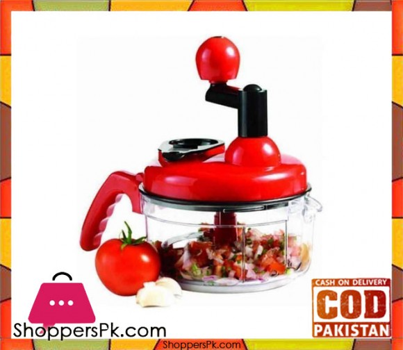 Hotline Handy Chopper - Red - Karachi Only