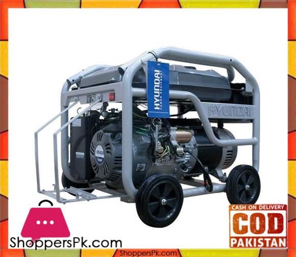 """HYUNDAI Petrol Generator 3 kVA - HGS3500 """" Silver - Karachi Only"""