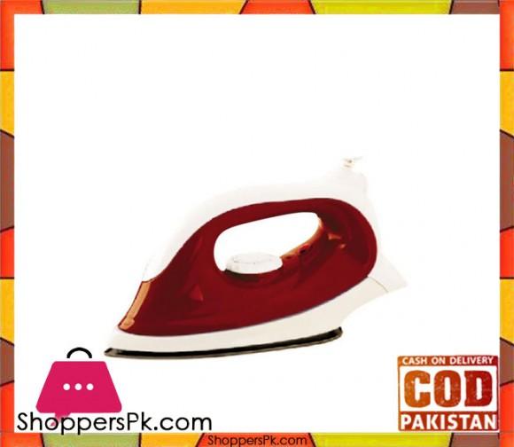 Jack Pot JP-11 - Dry Automatic Iron - 100W - Red & White (Brand Warranty) - Karachi Only