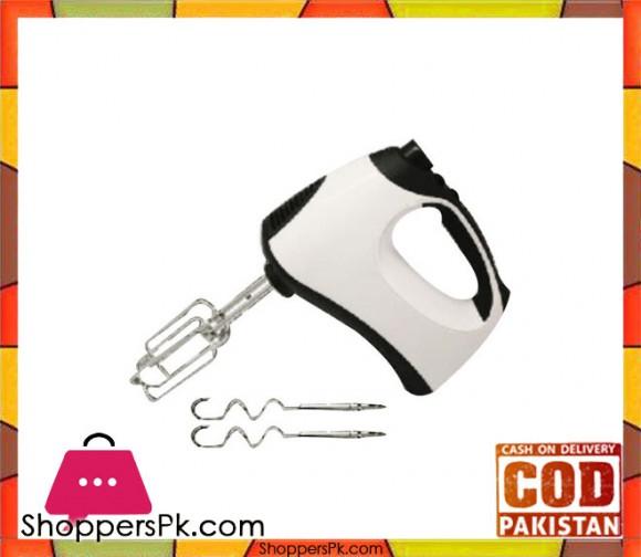 Jack Pot - Egg beater with Whipper - White (Brand Warranty) JP-902 - Karachi Only