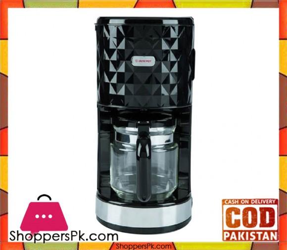 Jack Pot JP-973 - Coffee Maker - Black - Karachi Only