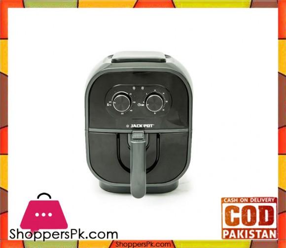 Jack Pot JP-709 - Air Fryer - Black (Brand Warranty) - Karachi Only