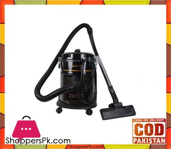 Jack Pot JP-705 - Vacuum Cleaner - Red & Black - Brand Warranty - Karachi Only