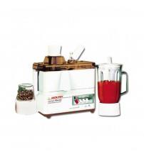 Jack Pot JP-176 - 3 in 1 Juicer Blender and Dry Mill - White - Karachi Only