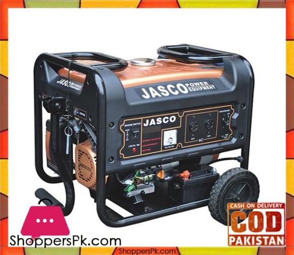 JASCO Self Start Petrol Generator 2.2 KW - J3500 - Golden - Karachi Only