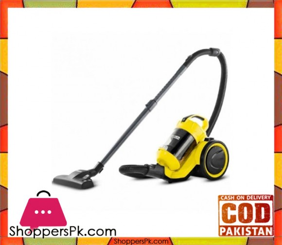 Karcher VC-3 - Vacuum Cleaner - Black & Yellow - Karachi Only