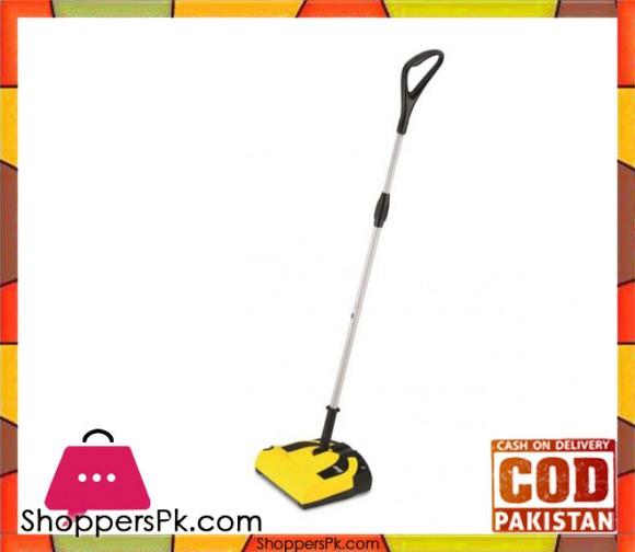Karcher K-55 - Cordless Electric Broom - Yellow & Black - Karachi Only