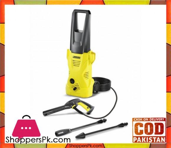 Karcher K2 - Core Range Pressure Washer - Black & Yellow - Karachi Only