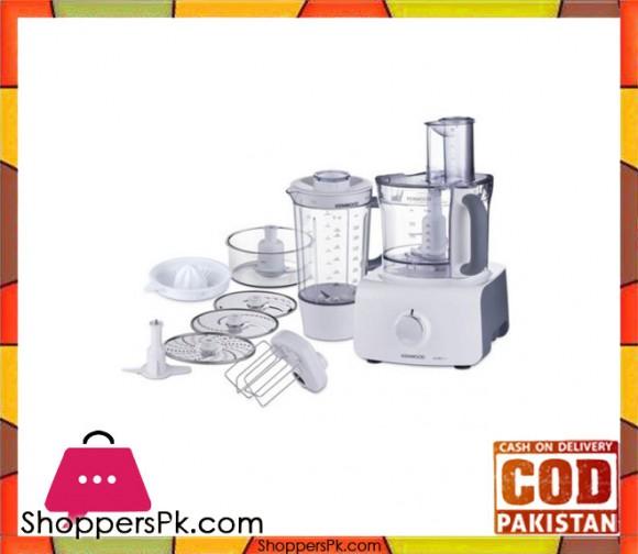 Kenwood Food Processor FDP-613 - 1000W - White without warranty - Karachi Only