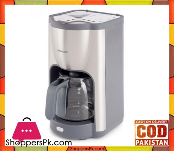 Kenwood Coffee Maker CMM-480 - 1100W - Silver - Karachi Only