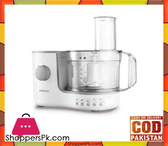 Kenwood Food Processor FP-120 - 1.4L - White with warranty - Karachi Only
