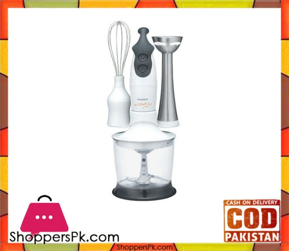 Kenwood HB665 - Hand Blender - White & Grey - Karachi Only