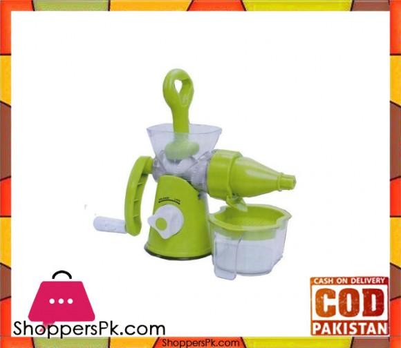 Konstar Manual Juicer Machine - Green