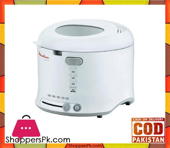 Moulinex Fryer - AF123111 - 1.8 Ltr - White - Karachi Only