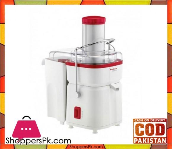 Moulinex Juicer Centrifuge Use Frutelia Pro - White & Red - Karachi Only