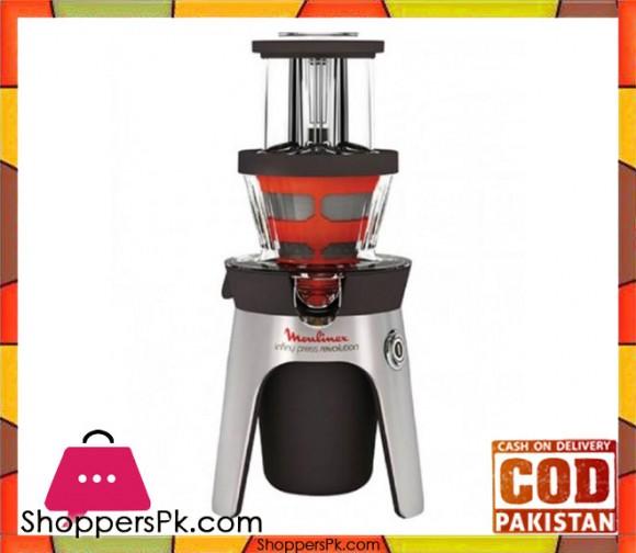 Moulinex Juicer Infiny Press Revolution - 300 W - White - Karachi Only