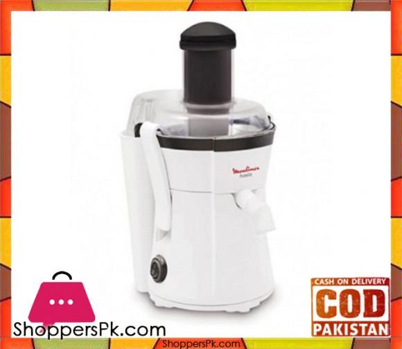 Moulinex Juicer Frutelia - 400 W - White - Karachi Only