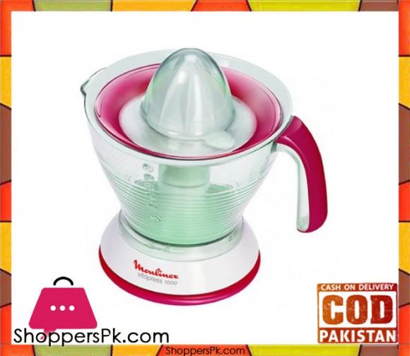 Moulinex Citrus Vita Press - 1L - White - Karachi Only