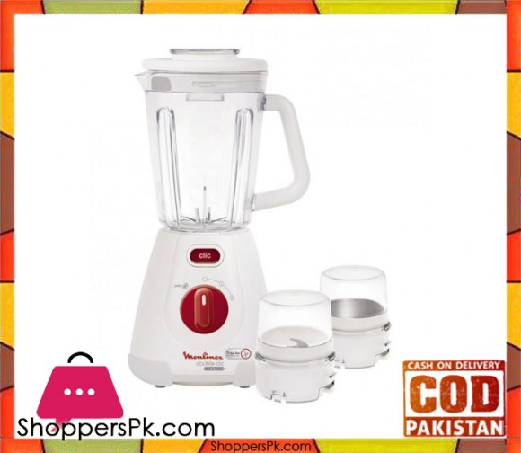 Moulinex LM2381 - Blender - Double Click - White - Karachi Only