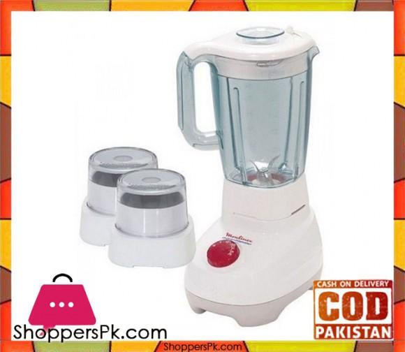 Moulinex LM207041 - Super Blender and Grinder - 1.5L - White - Karachi Only