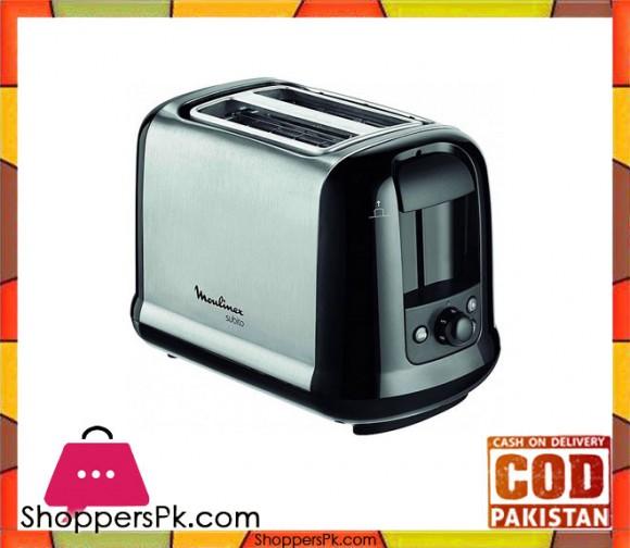 Moulinex LT260811 - Subito Toaster Two Slots - Silver & Black - Karachi Only