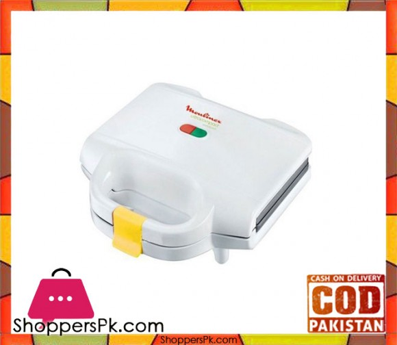 Moulinex Moulinex Sandwich Maker - SM1540- White - Karachi Only