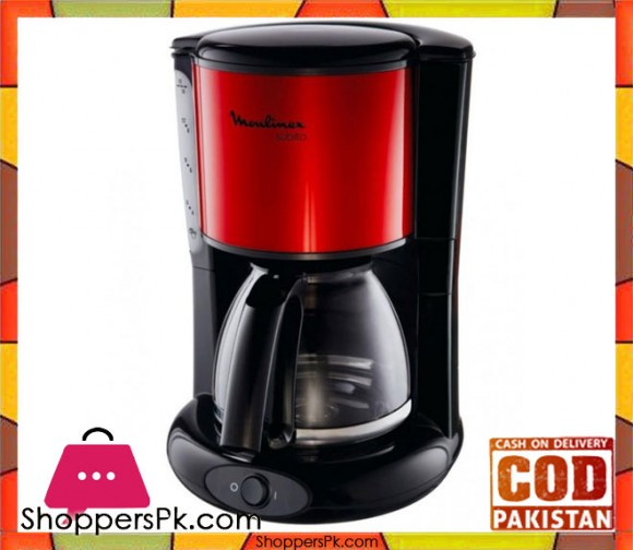 Moulinex FG360 - Coffee maker - Red - Karachi Only