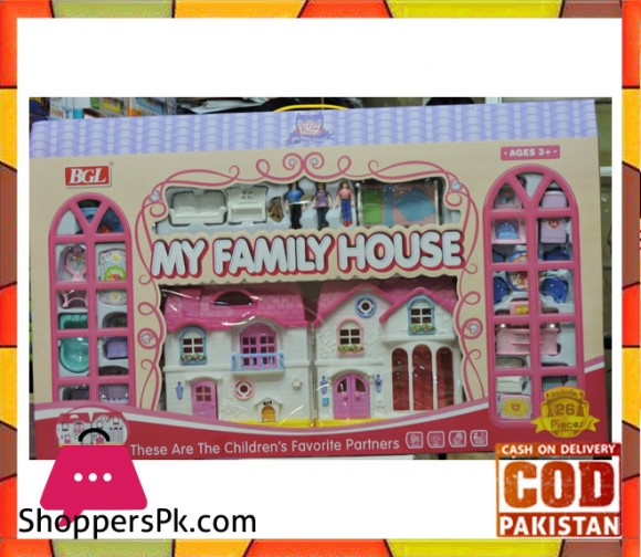 My Family House 26 Pcs