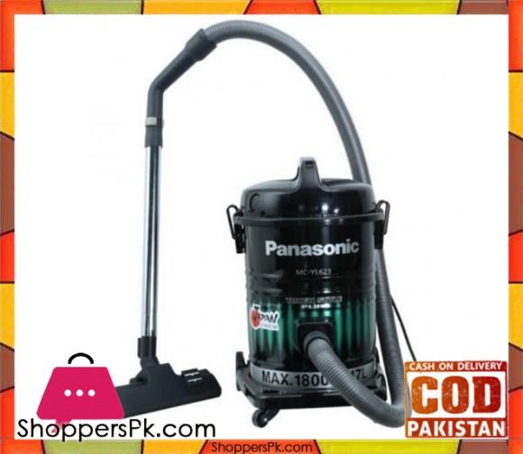 Panasonic Vacuum Cleaner MC-YL623 - Black - Karachi Only