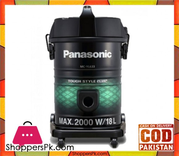 Panasonic Vacuum Cleaner MC-YL633 - Black - Karachi Only