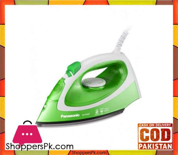 Panasonic Steam Iron - NI-P250TTTV - White & Green - Karachi Only