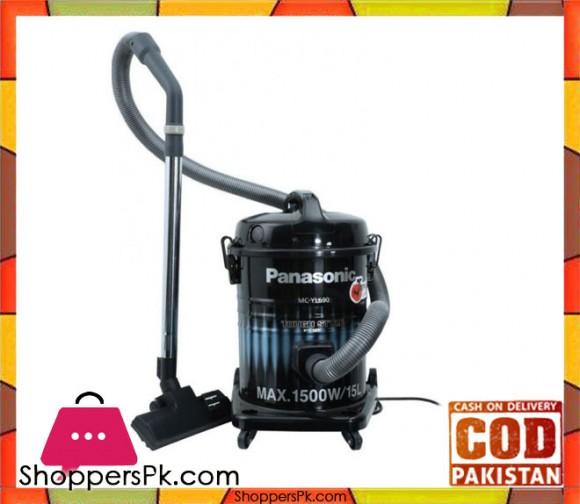Panasonic Drum Vacuum Cleaner - Blue & Black - Karachi Only