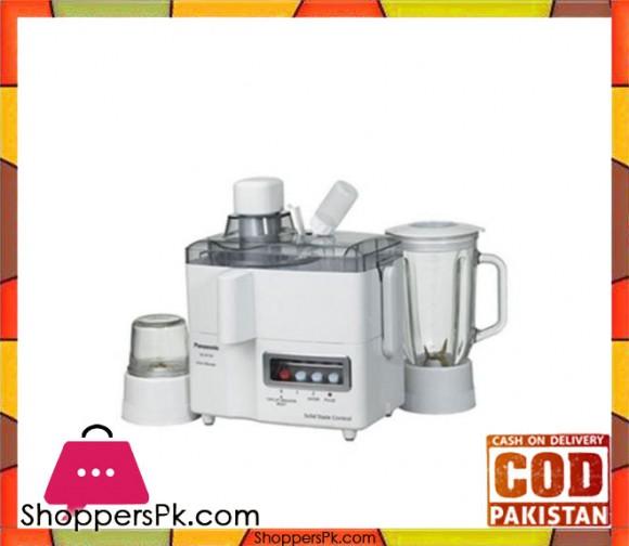 Panasonic 3 in 1 - Juicer, Blender & Mill - MJ-M176P - 230W - White - Karachi Only