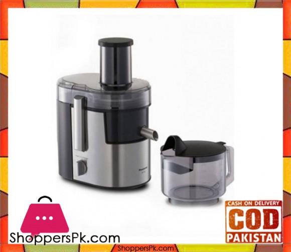 Panasonic Juicer Extractor - MJ-DJ01STN - Black & Silver - Karachi Only