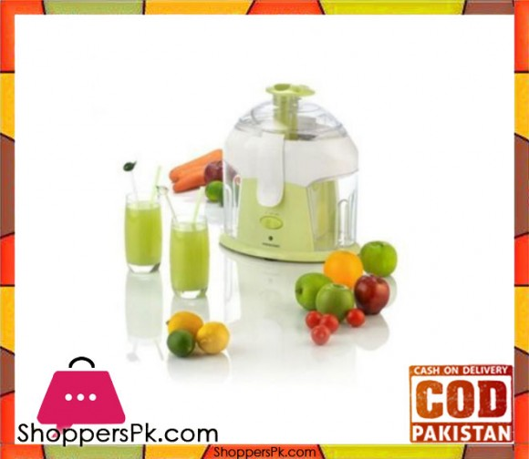 Panasonic PJ-37 - Juice Extractor - White and Green - Karachi Only