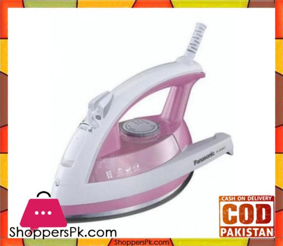 Panasonic NI-JW660T - Pink - Steam/Dry Iron - Karachi Only