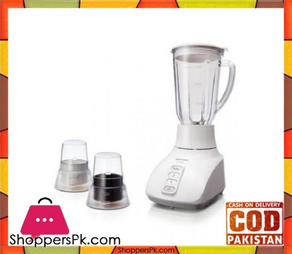 Panasonic MX-GX 1521 - 3 in 1 Blender 1.5 ltr - White - Karachi Only