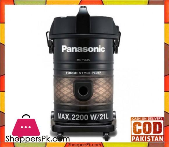Panasonic MC-YL635 - Drum Vacuum - Black - Karachi Only