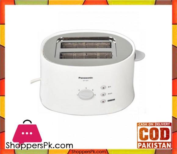 Panasonic Toaster NT-GP1 - White - Karachi Only