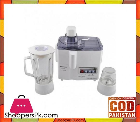 Panasonic 3 in 1 Juicer, Blender & Chopper - White - Karachi Only